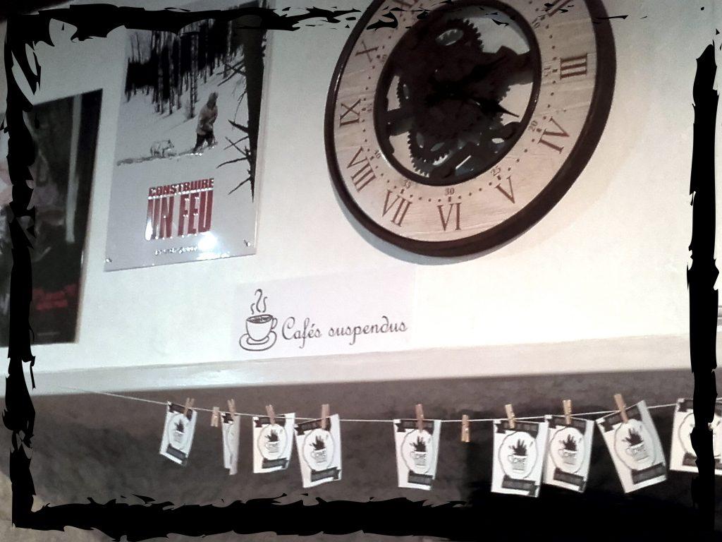 Le salon de thé - Cafés suspendus