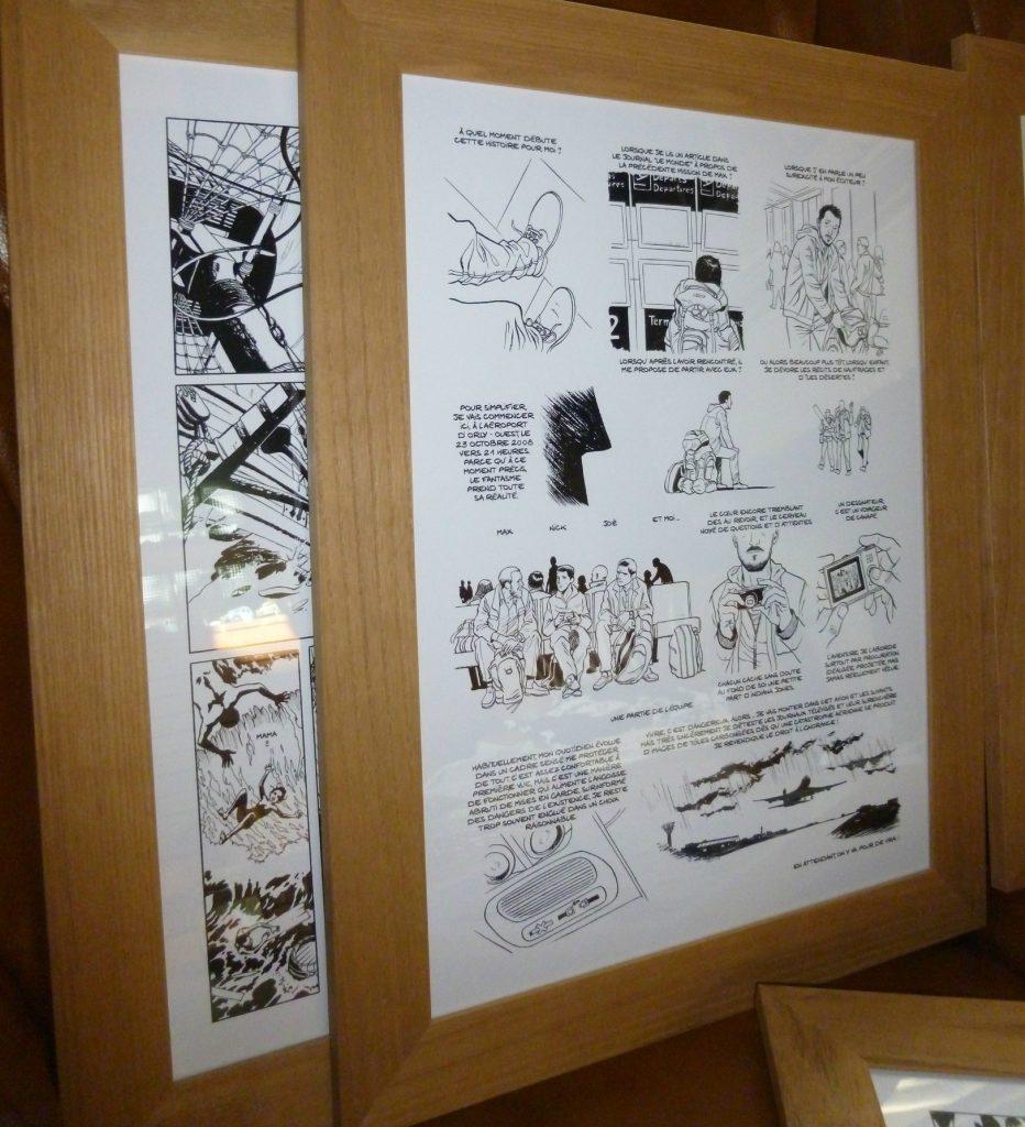 Préparation exposition Savoia